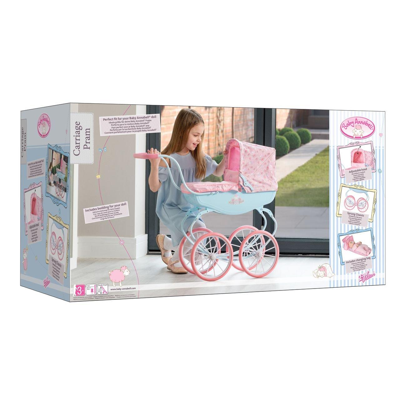 BABY ANNABELL CARRIAGE PRAM - Toyworld