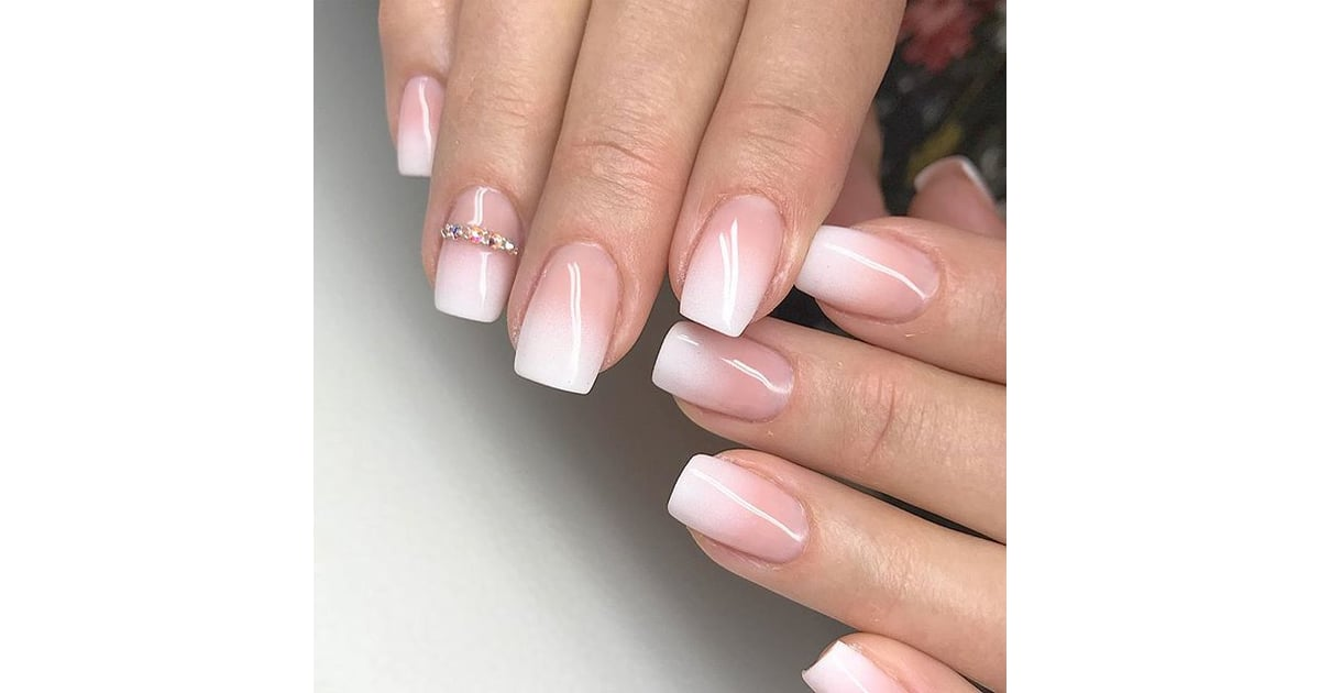 Baby Boomer Nails   Nail Art Trends 2018   POPSUGAR Beauty ...