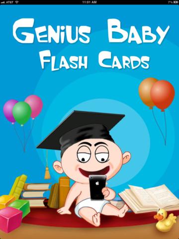 Toddler Flashcards: Genius Baby Flash Cards by eFlashApps ...