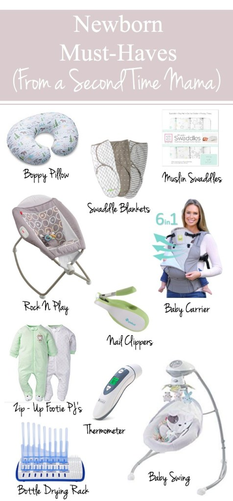 Newborn Must-Haves (From a Second Time Mama)   Mama Bear Bliss