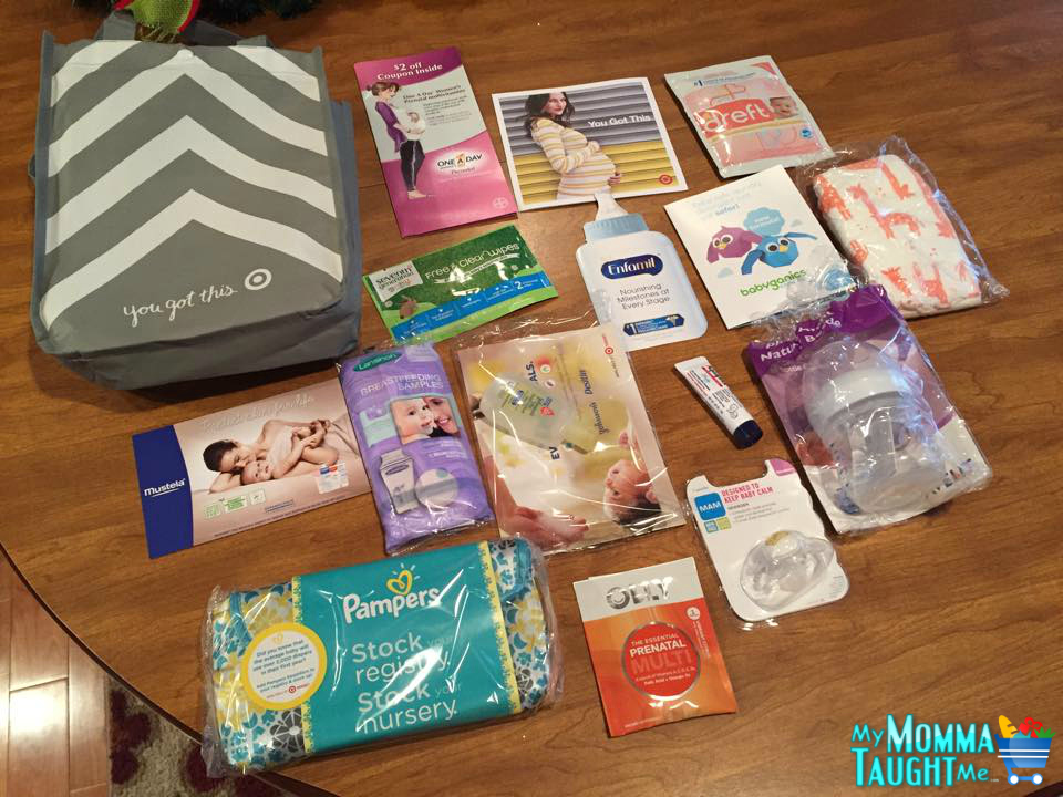 Sign Up for Target Baby Registry and Get Bag full of FREE ...