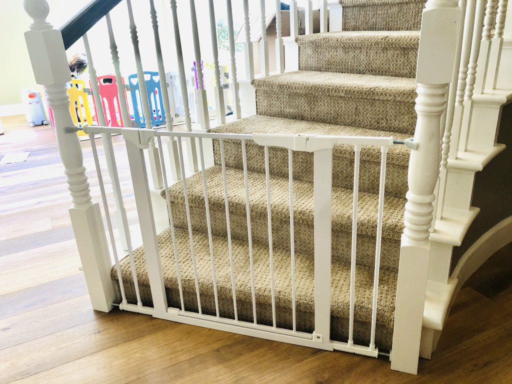 Baby Proof stair gate Ladera Ranch | Baby Safe Homes