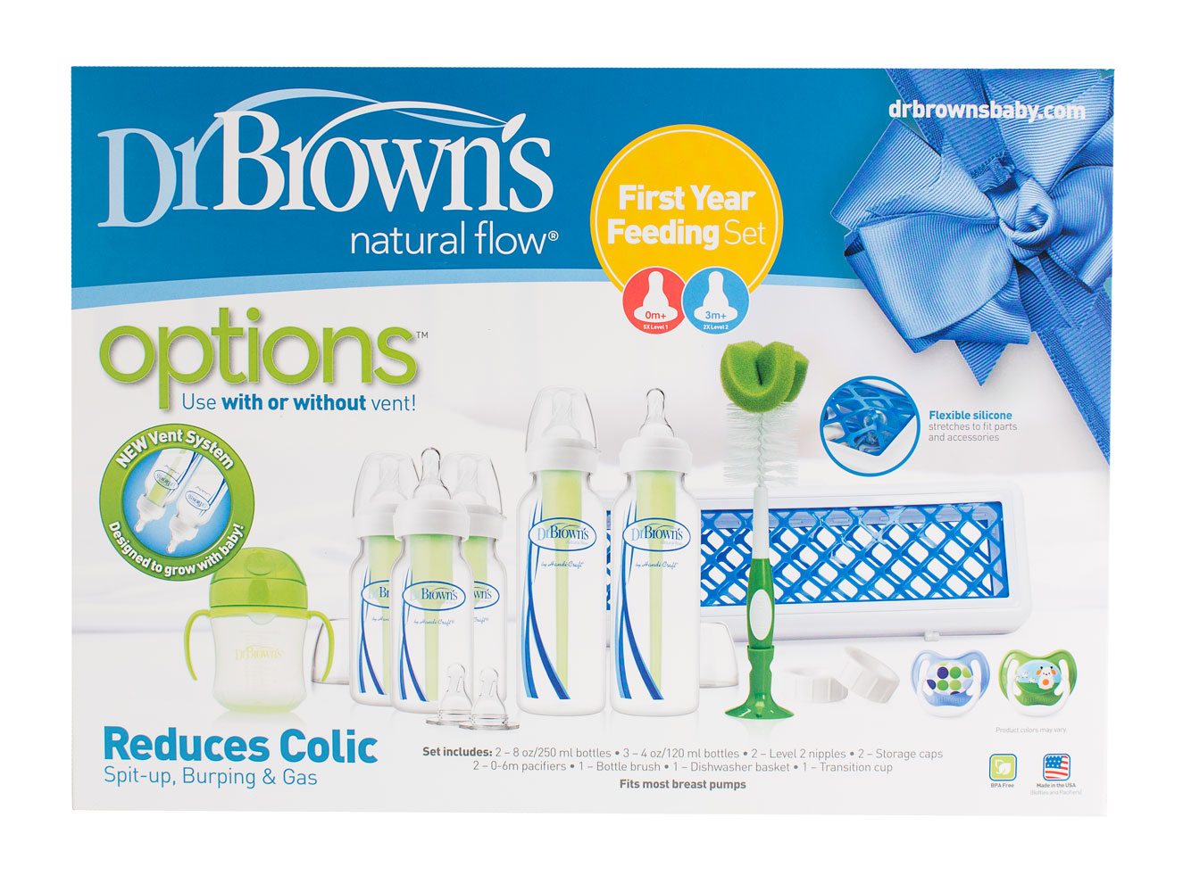 Dr. Brown's Options+ First Year Feeding Set | Babies R Us ...