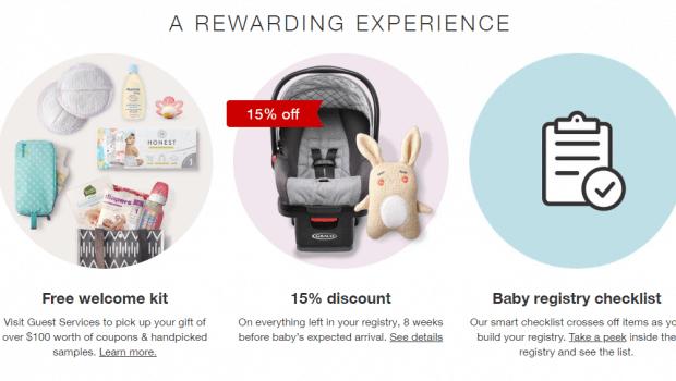 Target: Create Baby Registry & Get 15% Off & $80 In ...