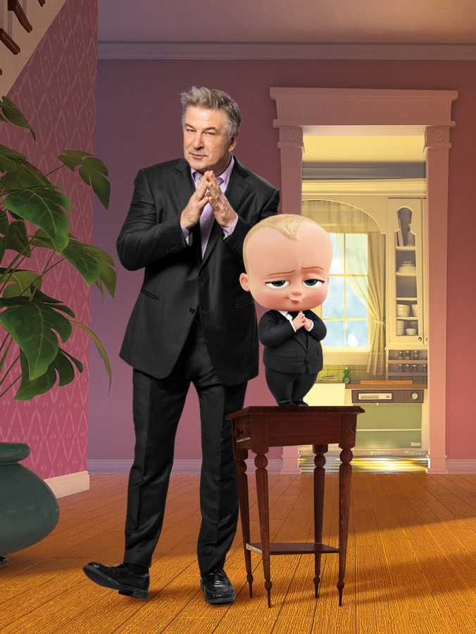 """Familiar Voices in Animated Comedy Film """"The Boss Baby ..."""