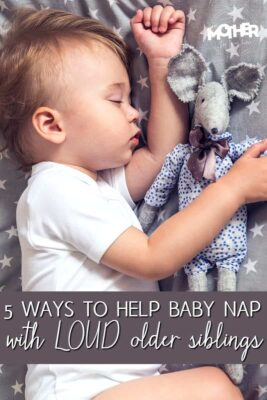White Noise: How to Help Baby Nap With Loud Older Siblings