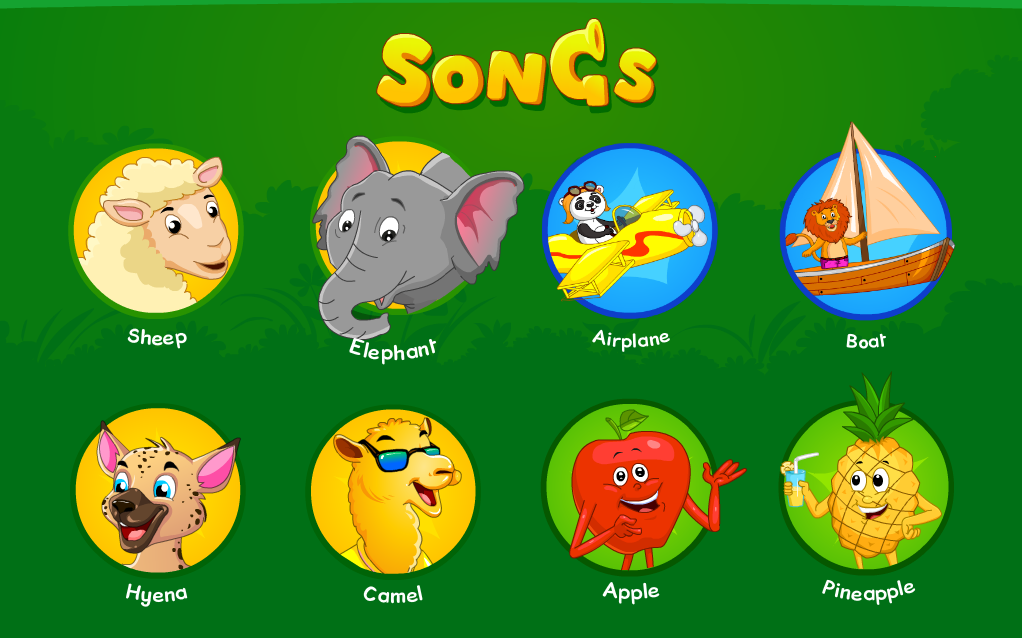 Nursery Rhymes, Kids Games & Songs Free for Android - Free ...