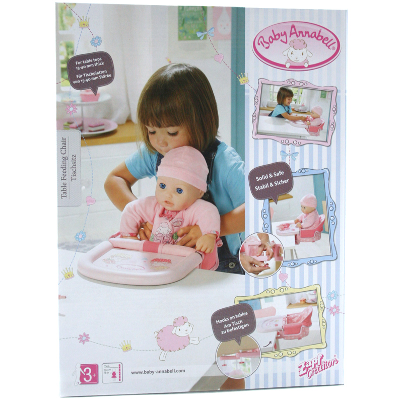Baby Annabell Table Feeding Chair 4001167701126 | eBay