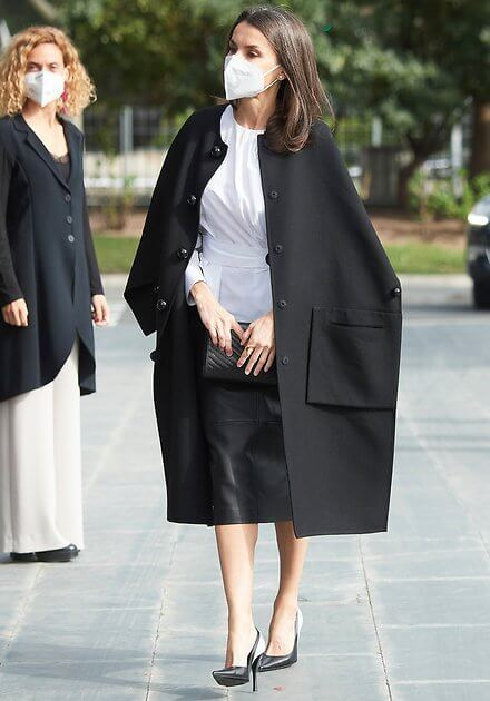 Queen Letizia attended the official event for Rare Disease ...