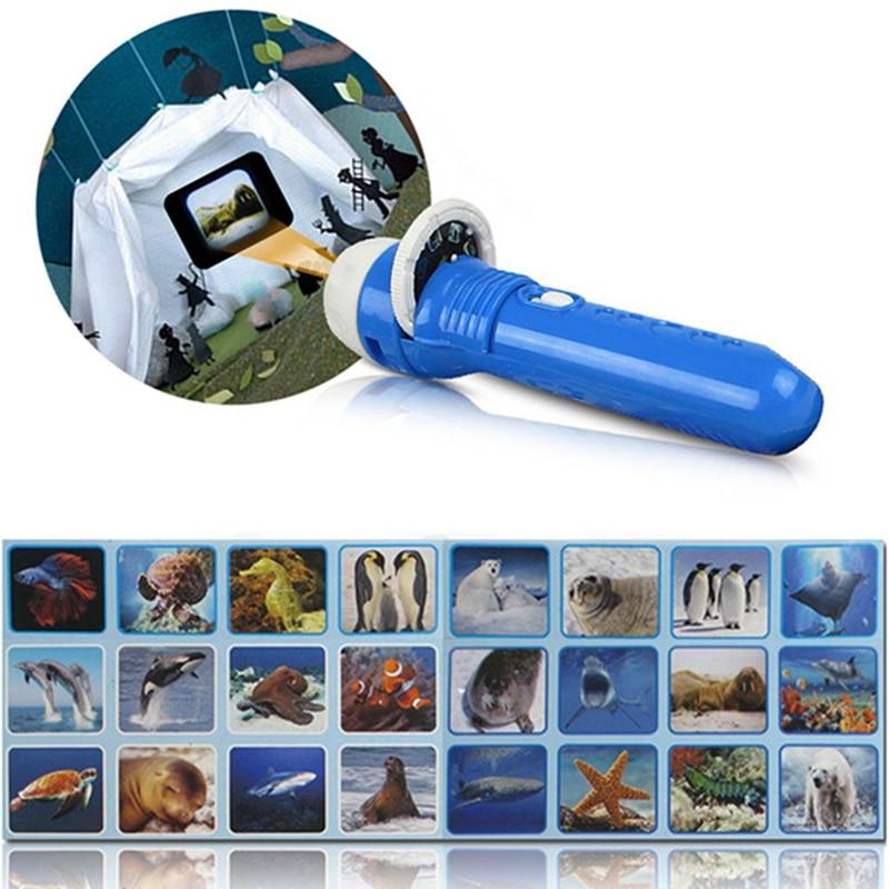 Flashlight Projector Slide Equipment For Baby Sleep Story ...