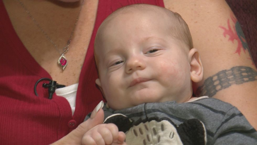 Local baby battles two rare diseases since birth