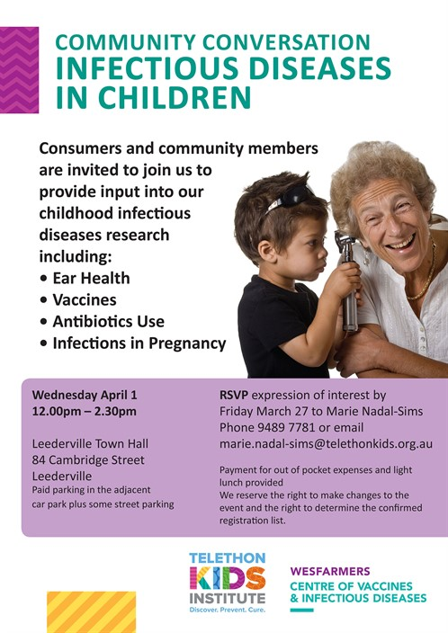 Community Conversation- Infectious Diseases in Children
