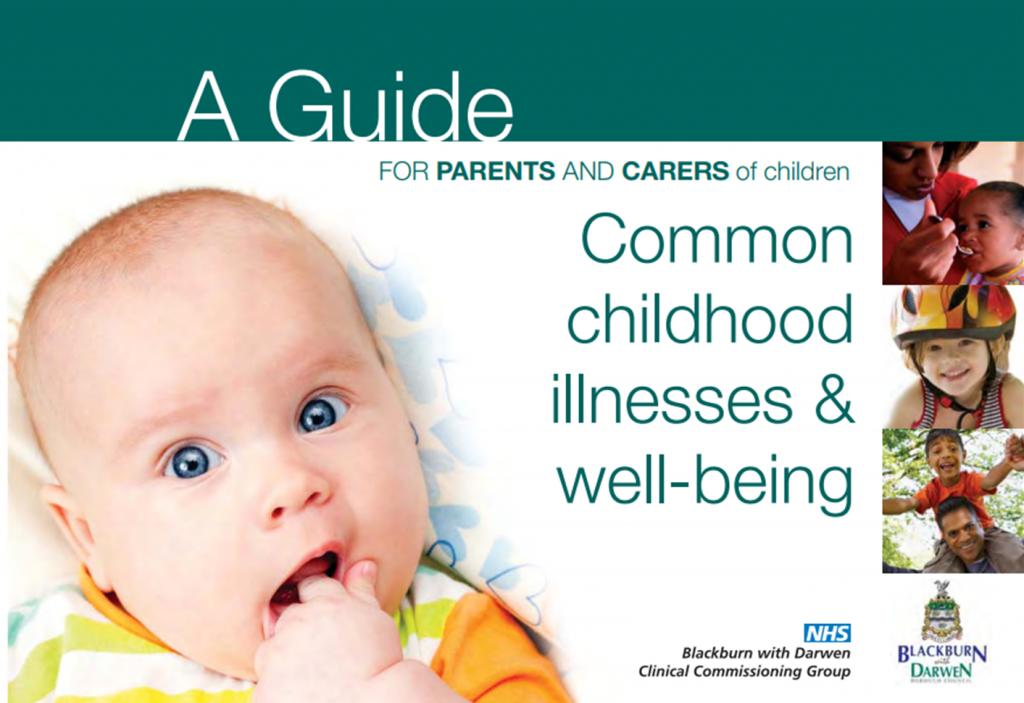 Childhood illness guidance booklet - NHS Blackburn with ...
